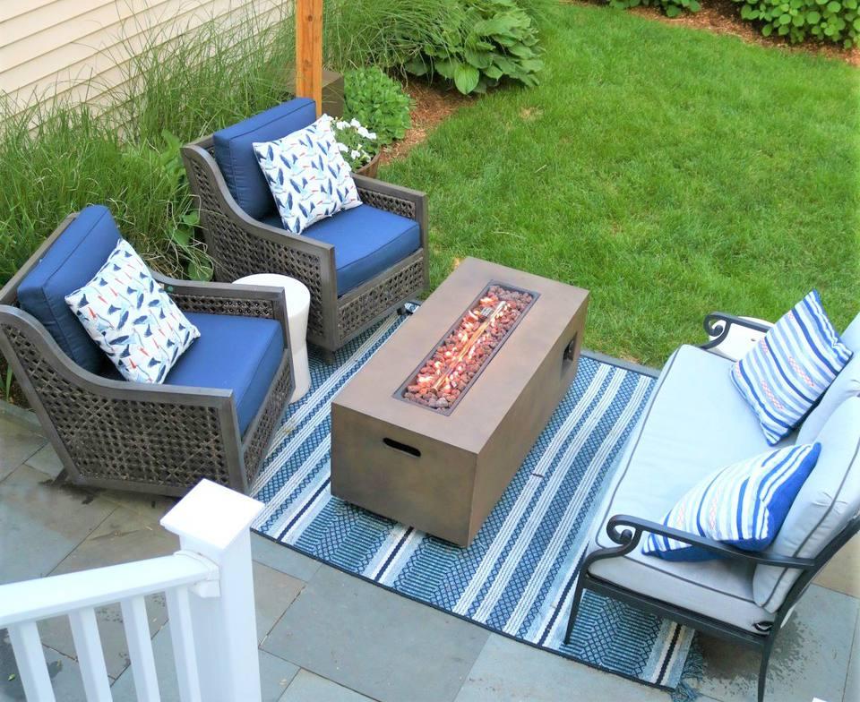 10 Creative and Inexpensive DIY Patios on Diy Backyard Patio Cheap  id=88132