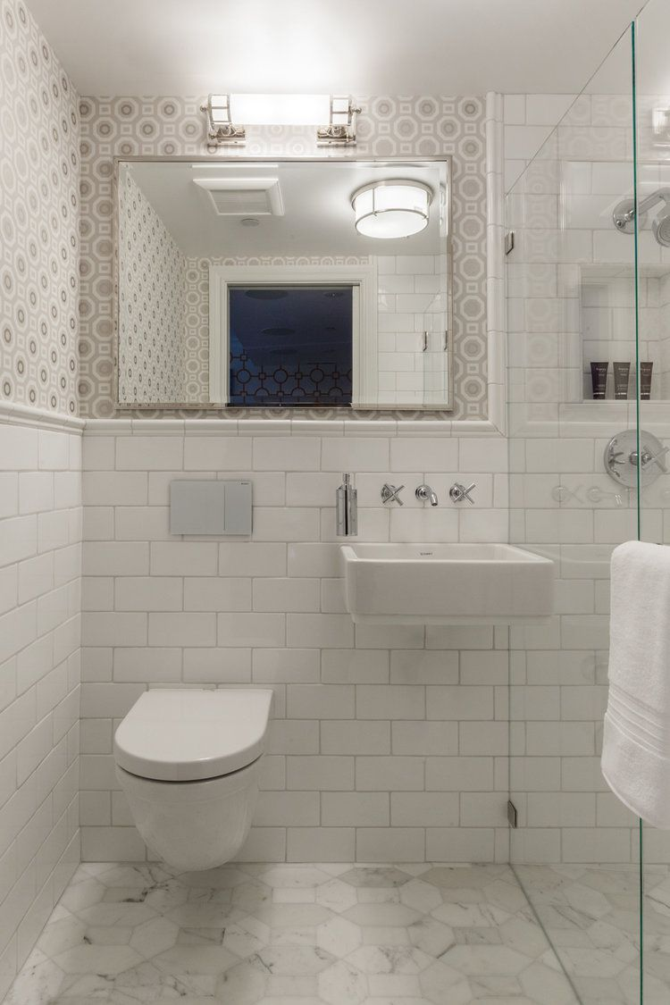 Small Bathrooms Brimming With Style and Function on Space Bathroom  id=81560