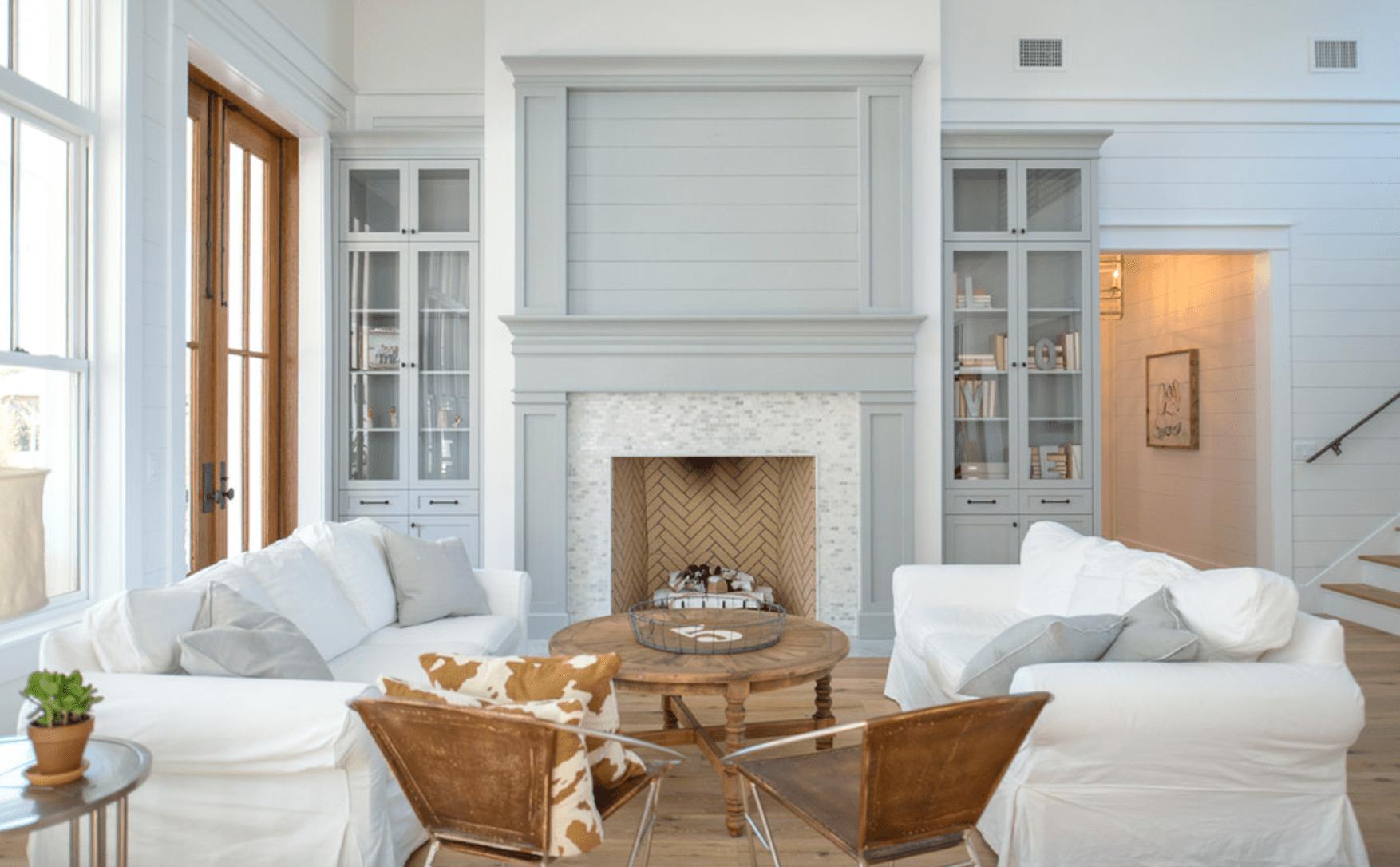 14 Farmhouse-Style Living Room Tips on Farmhouse Style Living Room Curtains  id=86808