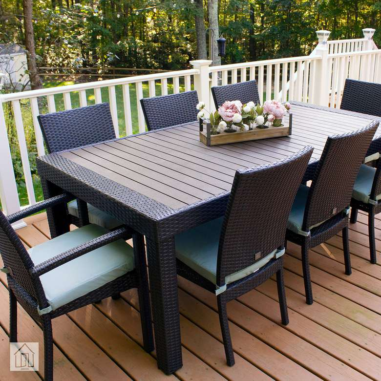 Rst Brands Deco 9 Piece Patio Dining Set Review Room For All