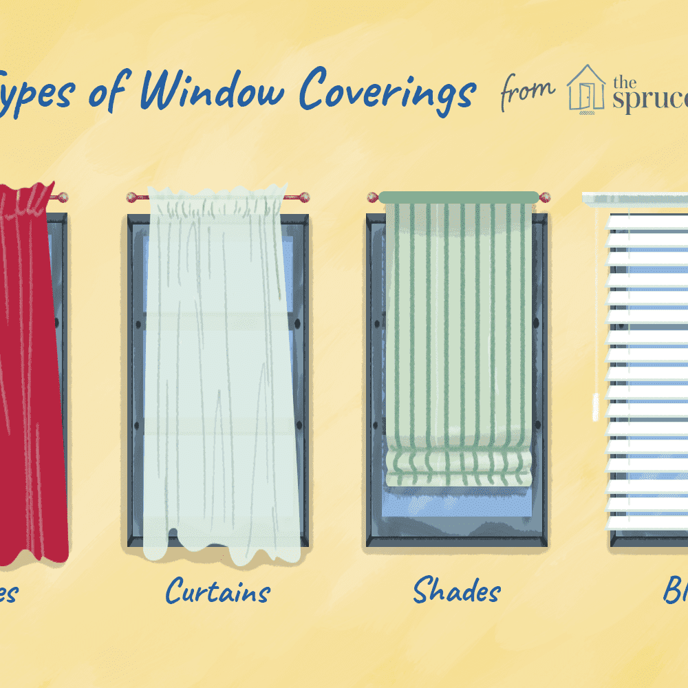 differences between curtains drapes