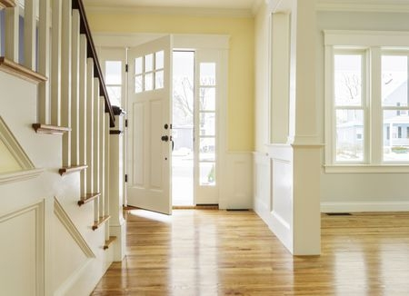 Is A Staircase Facing The Front Door Bad Feng Shui | Staircase Designs For Indian Homes | Granite | New | Beautiful | Cheap | Steel