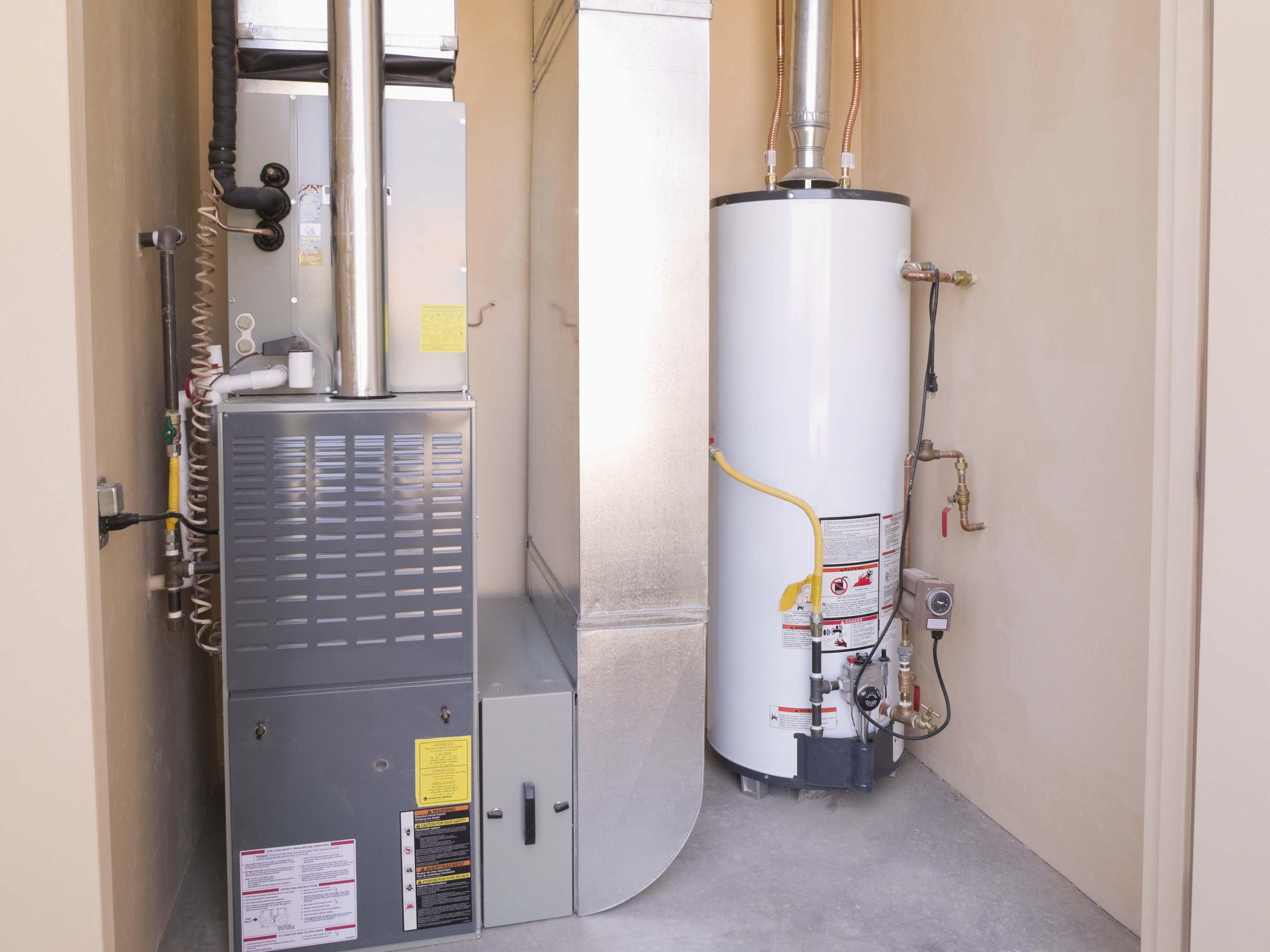 venting a hot water heater