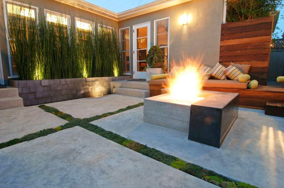 15 Beautiful Concrete Patio Ideas and Designs on Concrete Slab Backyard Ideas id=76007