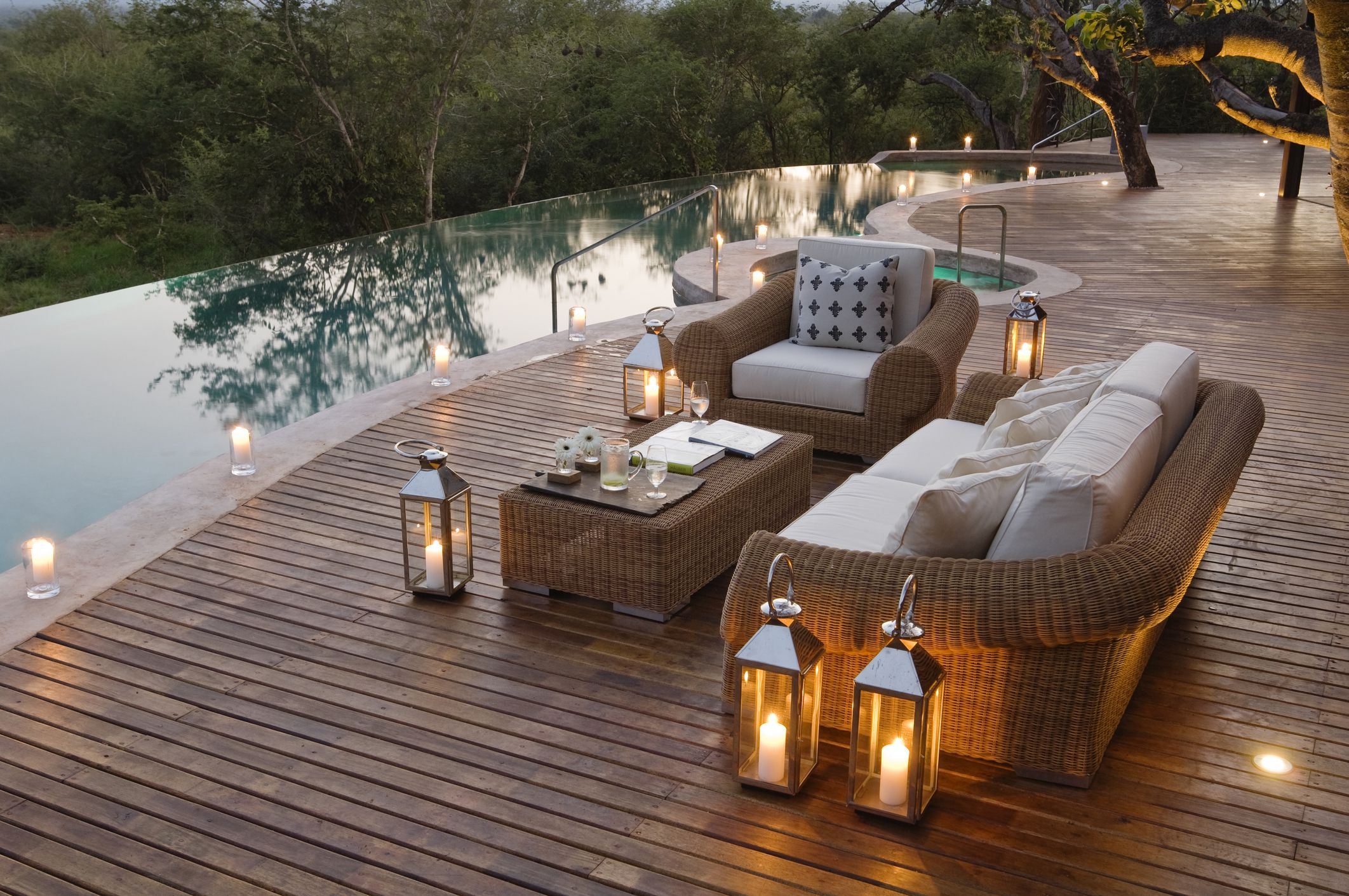 Great Outdoor Deck Design Ideas and Inspiration on Patio With Deck Ideas id=57431