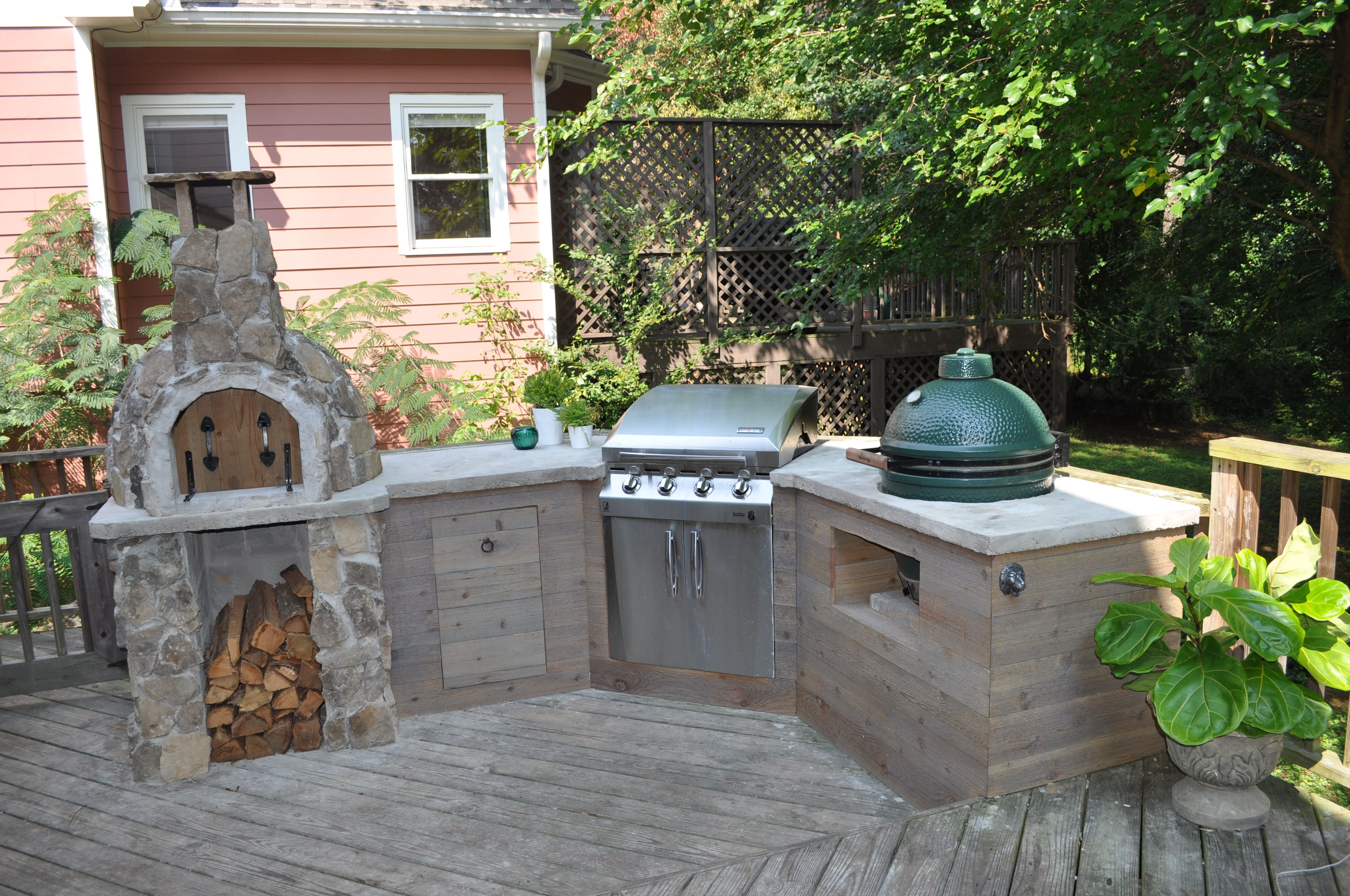 DIY Outdoor Kitchen Ideas on Patio Kitchen Diy  id=63219