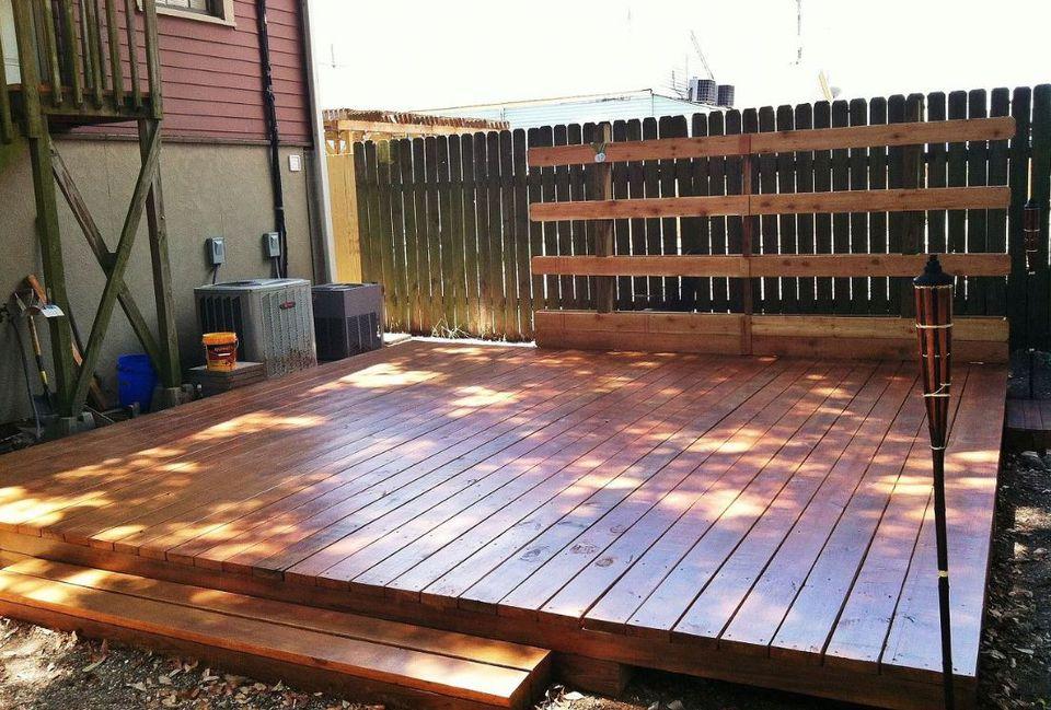 10 Beautiful, Easy DIY Backyard Decks on Diy Backyard Deck Ideas id=65065