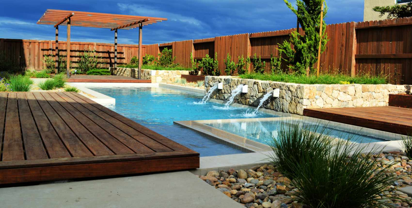 14 Modern Garden Designs and Ideas on Modern Backyard Ideas With Pool id=80658