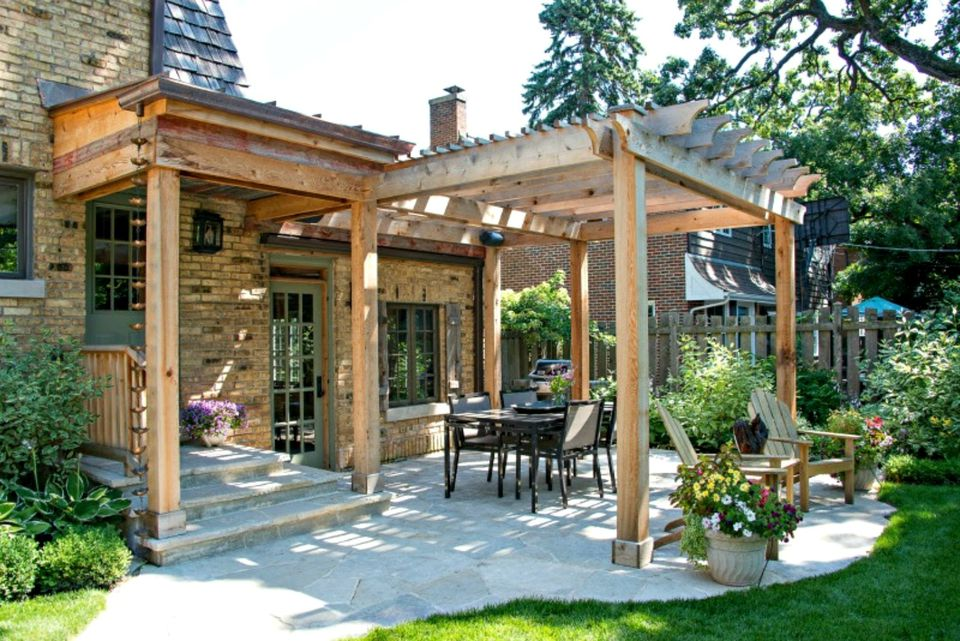 25 pergola design ideas for your garden on Brick Pergola Designs id=65375