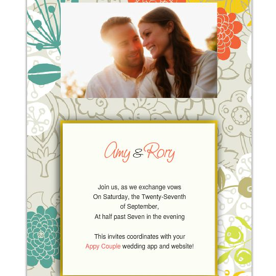 Simple Wedding Invitations Online