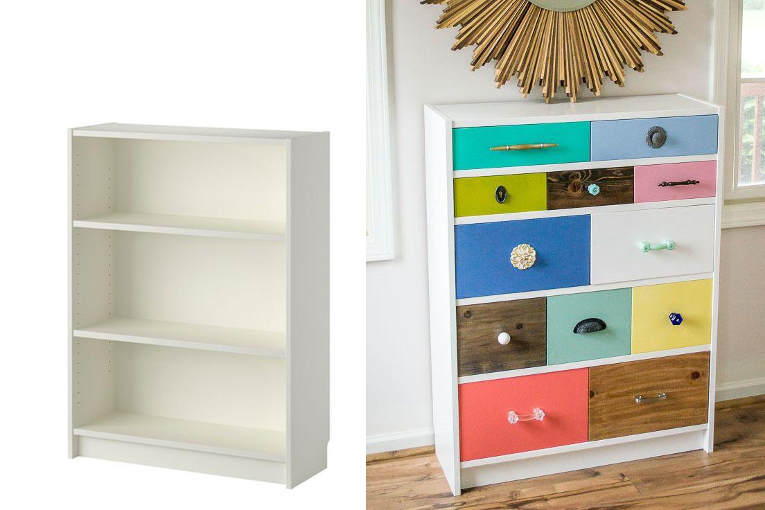 19 Ingenious Ikea Billy Bookcase Hacks