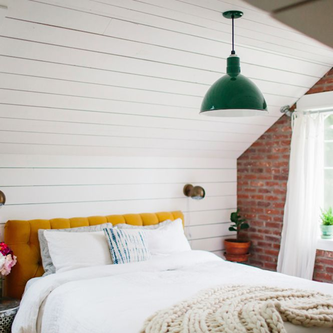 21 Bedrooms With Exposed Brick Walls