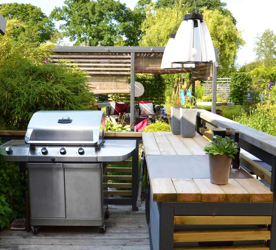 8 Best DIY Outdoor Kitchen Plans on Diy Patio Grill Island id=67120