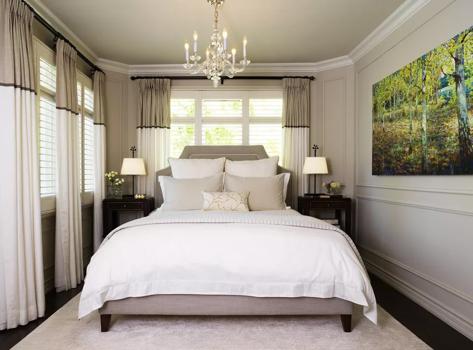 Маленькая главная спальня