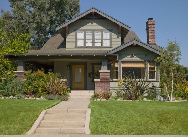 Craftsman House Colors--Photos and Ideas