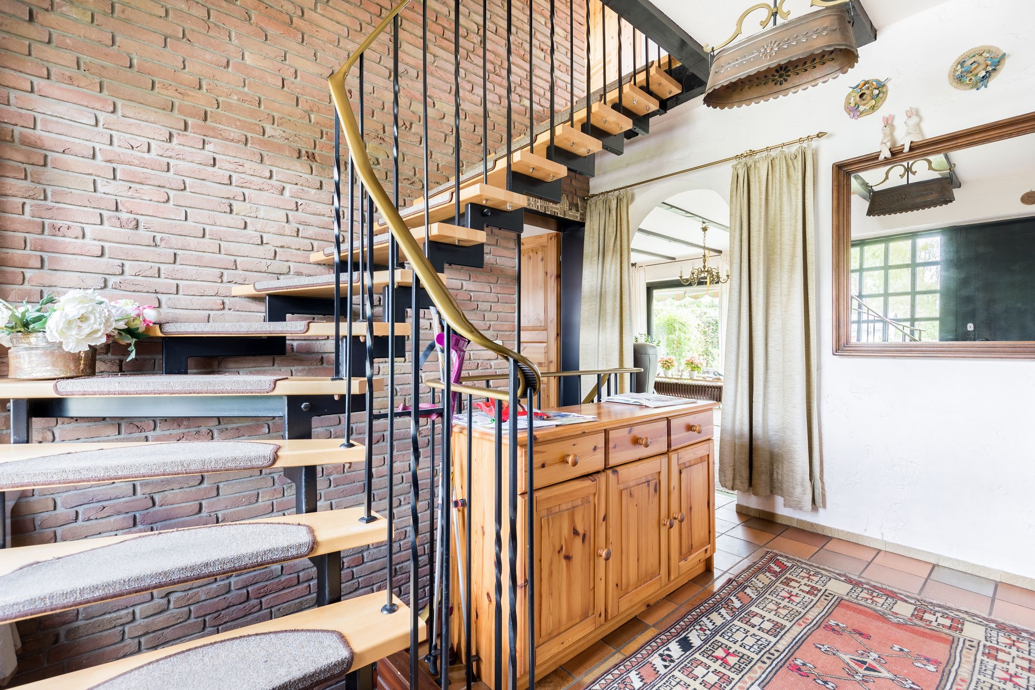 4 Decorative Ways To Dress Up A Stairway   Stairs Covered In Wood   Simple   Wood Paneling   Glass   Rustic   White