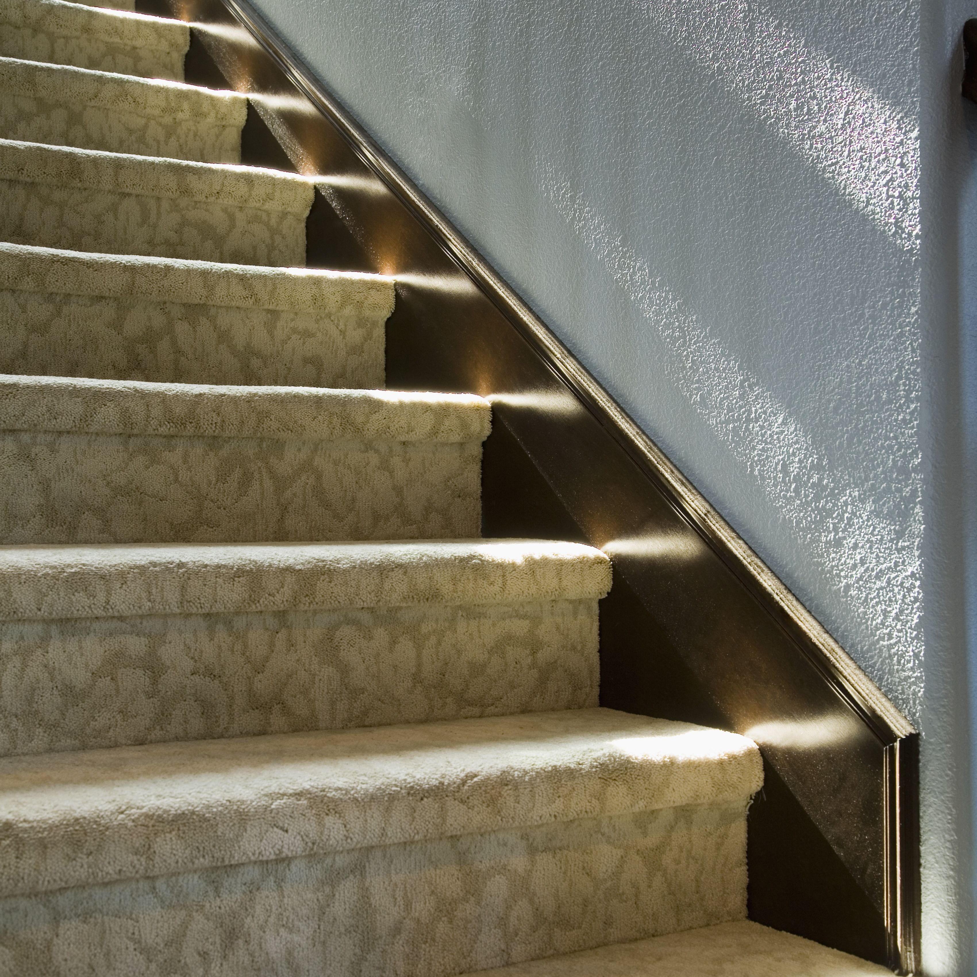 Measuring And Calculating Carpet For Stairs | Outdoor Carpet For Steps | Front Entrance | Marine | Navy Pattern | Rubber | Diy