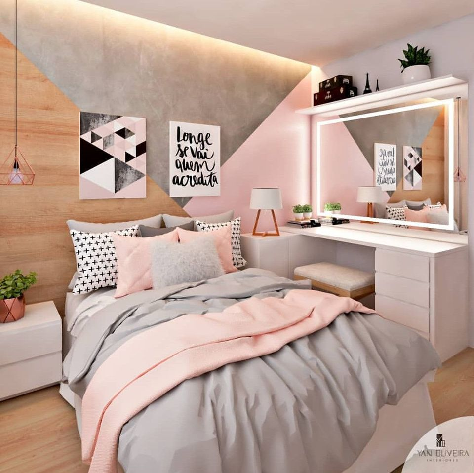 22 Cool Room Ideas for Teens on Room Decor For Teenagers  id=84640