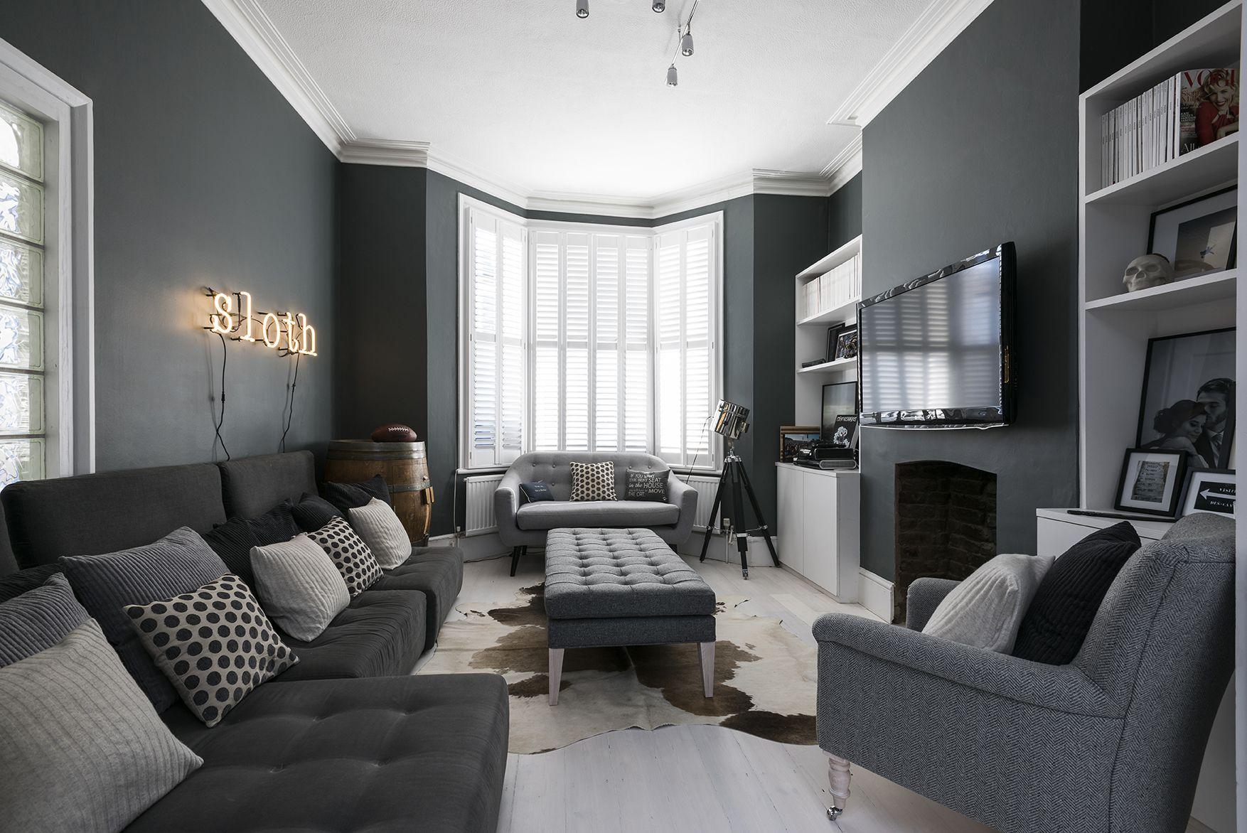 Beautiful Gray Living Room Ideas