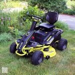 Ryobi Rm480e Electric Riding Mower Review Powerful Eco Friendly