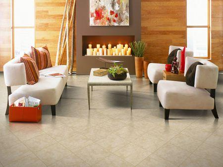 ceramic floor tile in living rooms