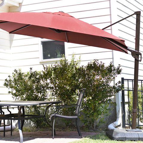 royal garden square cantilever patio umbrella
