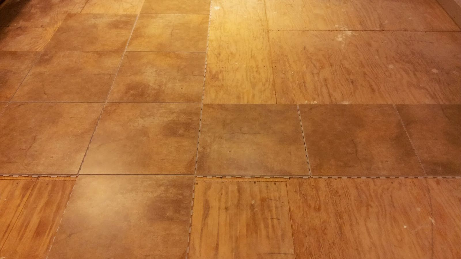 an easy way to lay ceramic tile