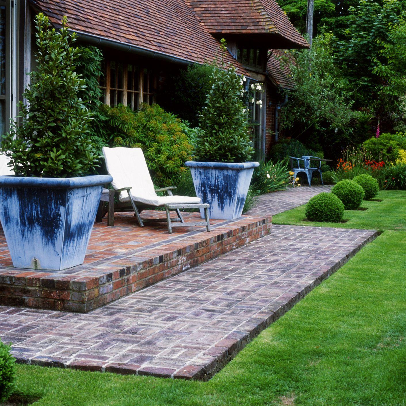 basket weave pattern for brick pavers