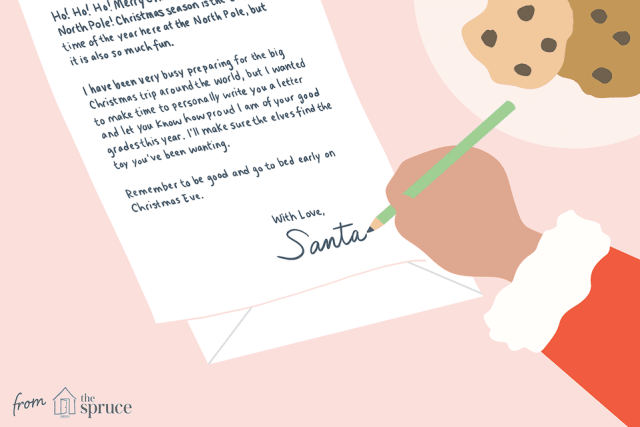 17 Free Letter From Santa Templates
