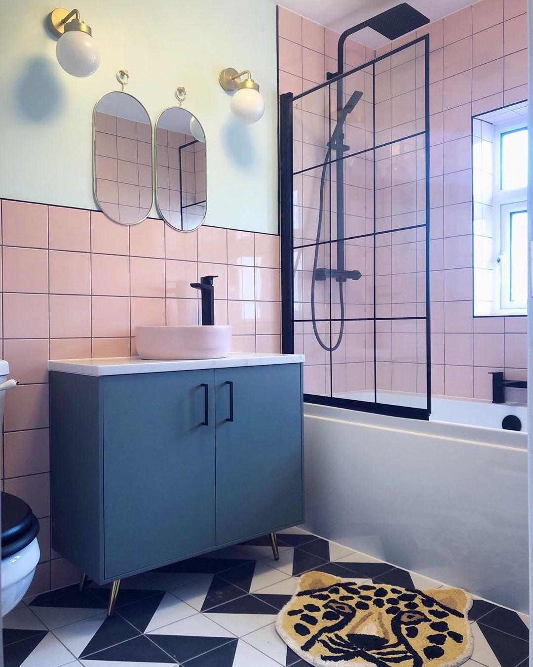 32 beautiful bathroom tile design ideas