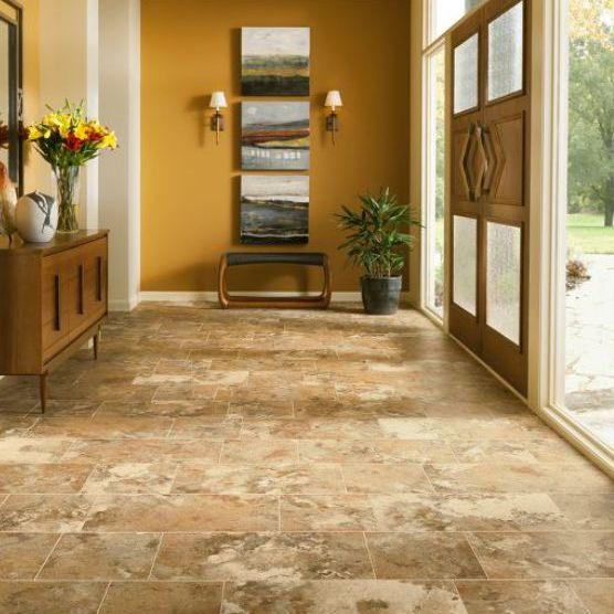 luxury vinyl tile cuarzo or quartz stone