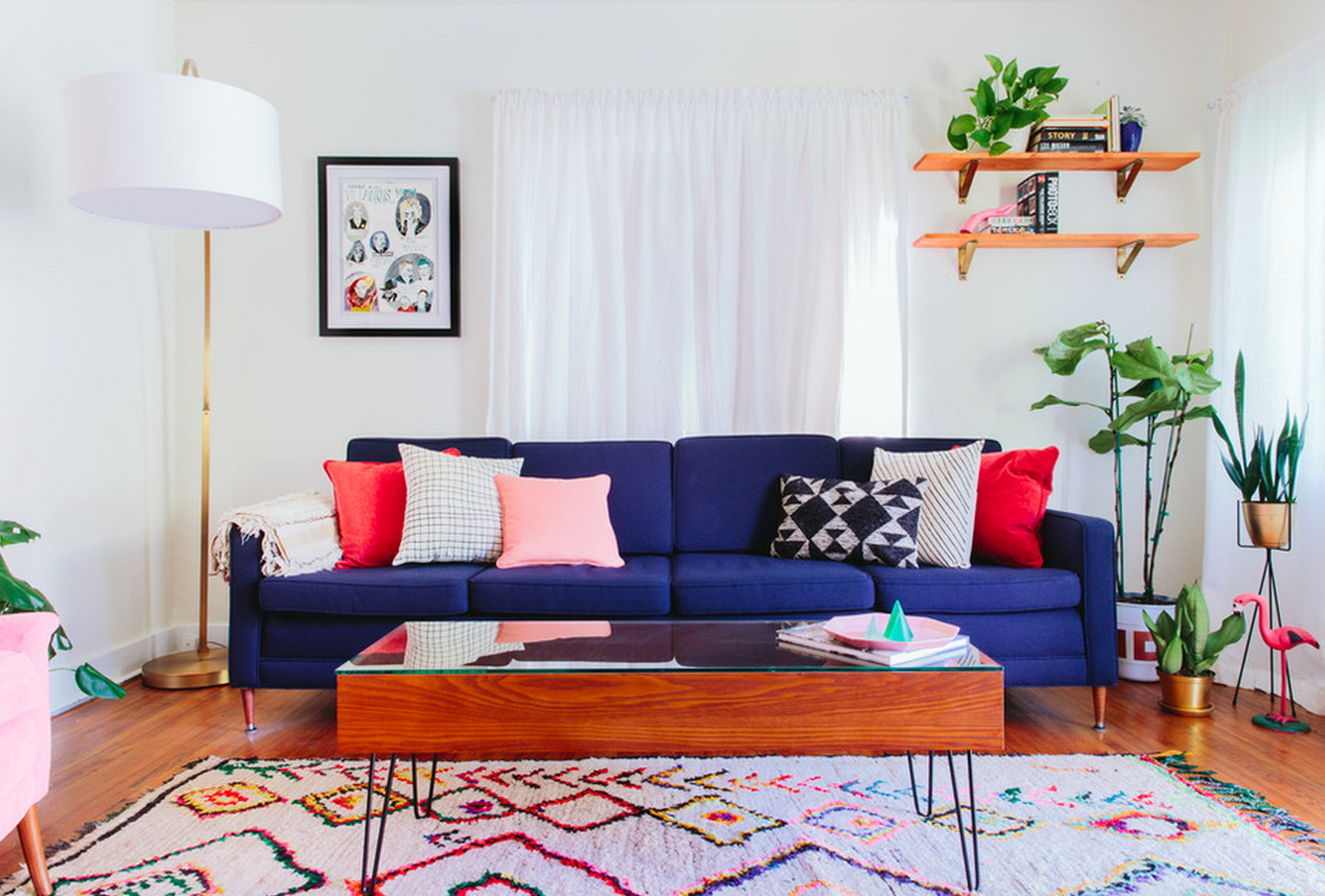 21 Colorful Living Room Designs