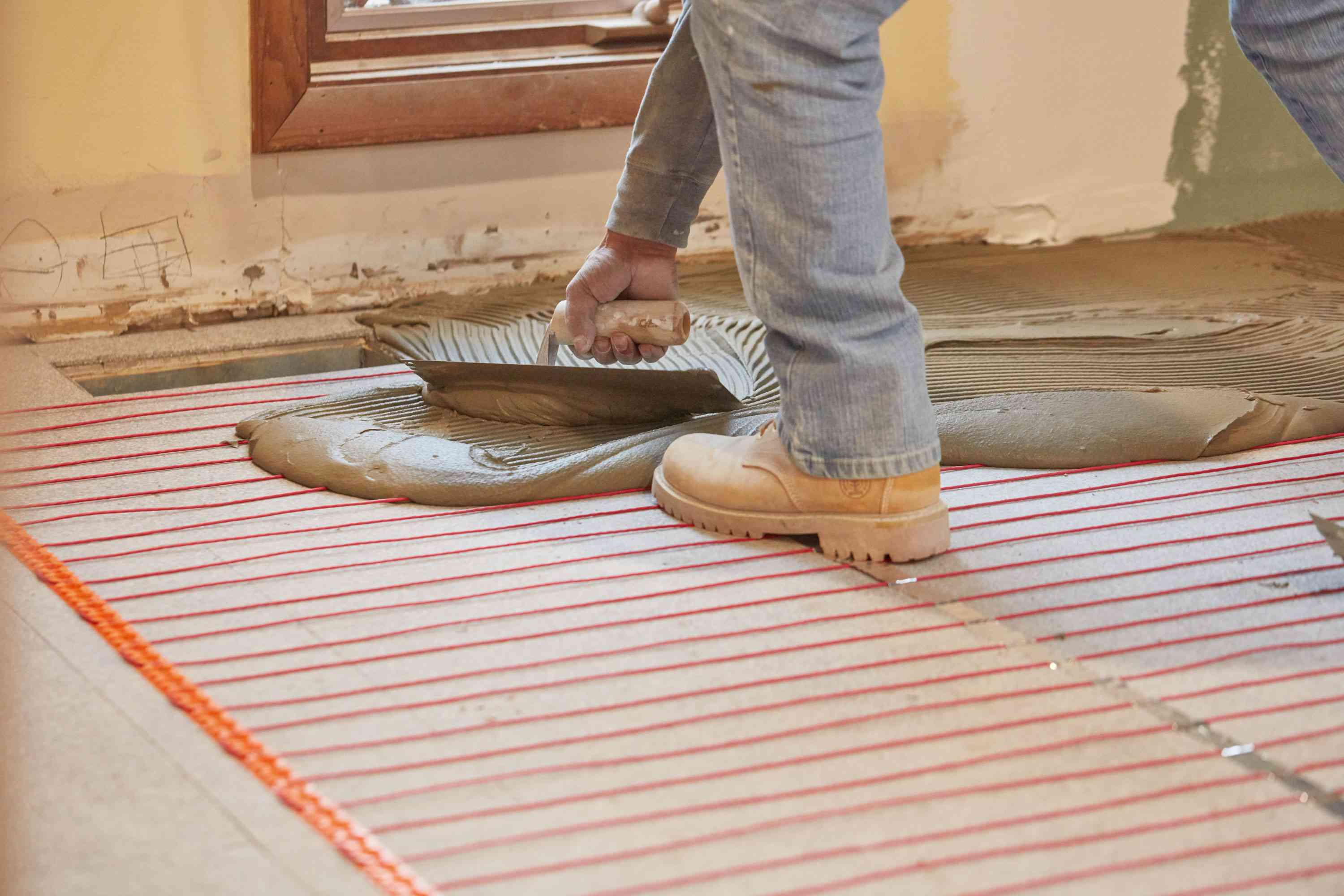 how to warm up the floors in your home