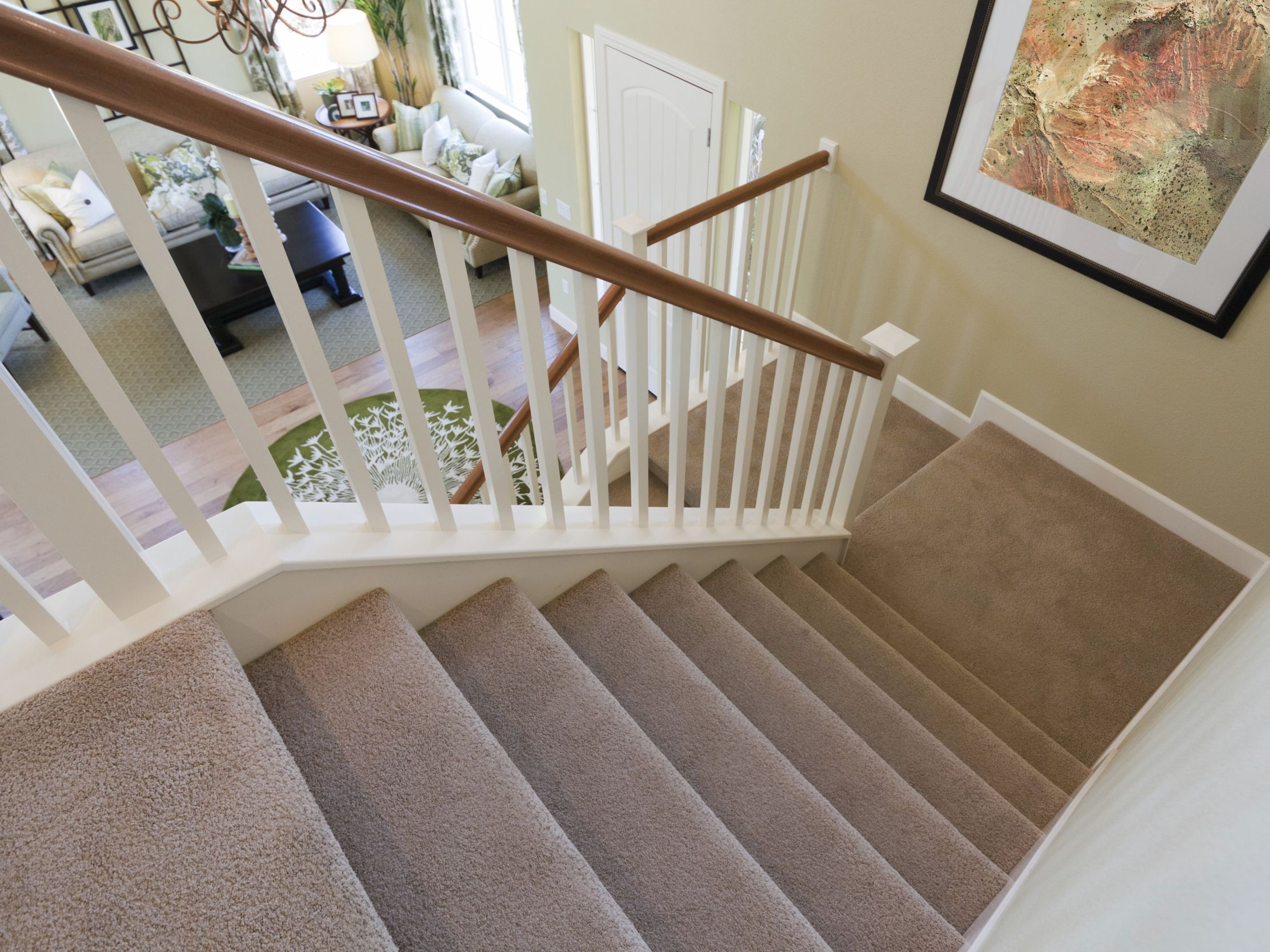 The Best Carpet For Stairs | Grey Carpet Stairs And Landing | Teal | Open Plan | Pinterest | Commercial | Wall