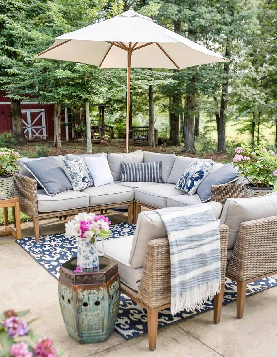 10 Creative and Inexpensive DIY Patios on Diy Backyard Patio Cheap  id=45309