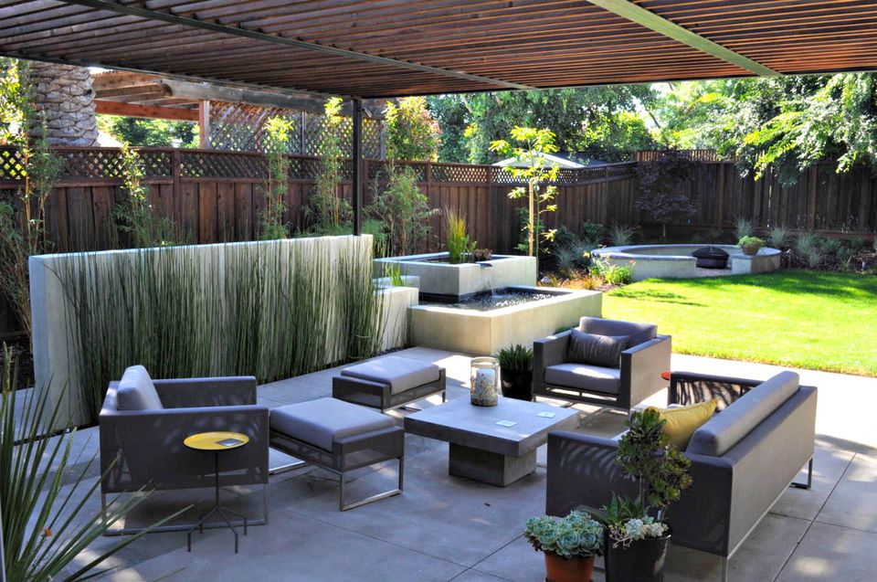 14 Modern Garden Designs and Ideas on Modern Backyard Patio Ideas  id=51547