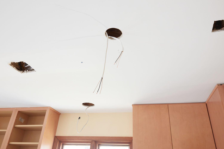 installing retrofit recessed lighting