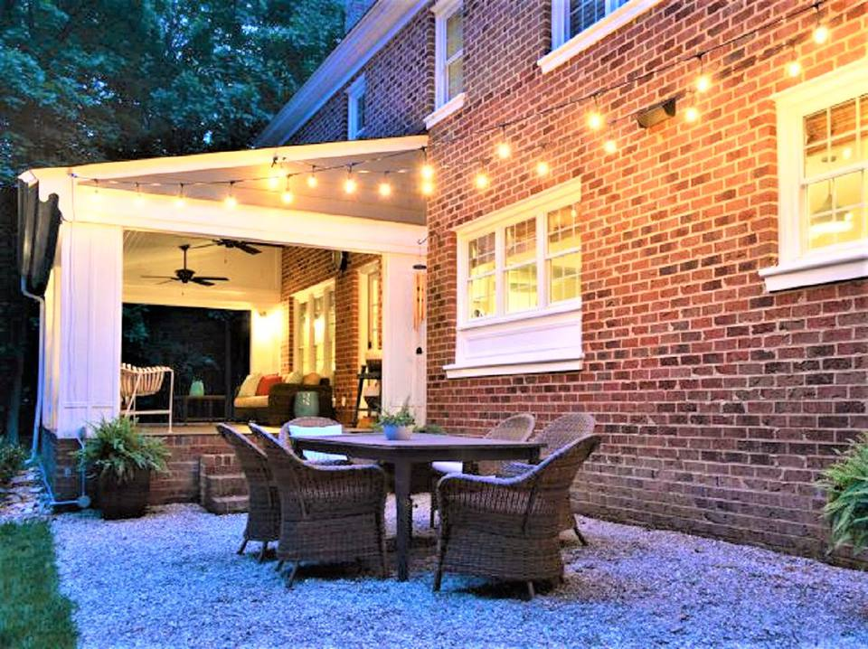 10 Creative and Inexpensive DIY Patios on Diy Backyard Patio Cheap  id=40182