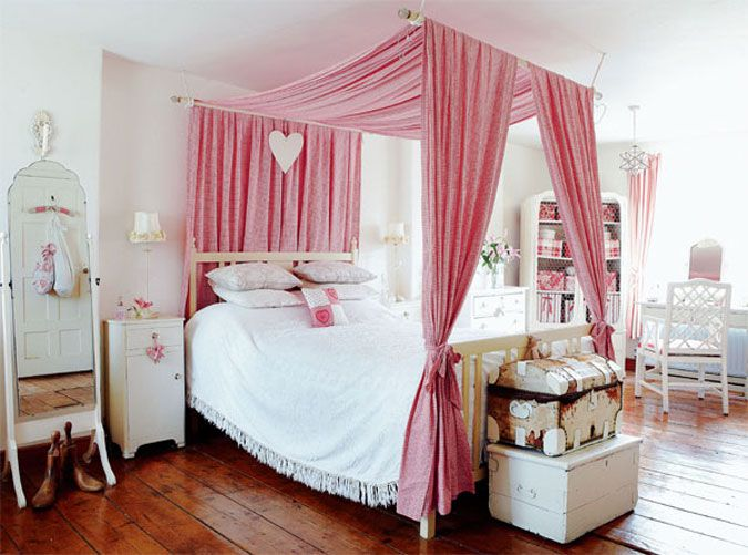 21 great ideas for a canopy bed in a