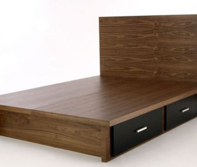 Knickerbocker Walnut Bed Frame