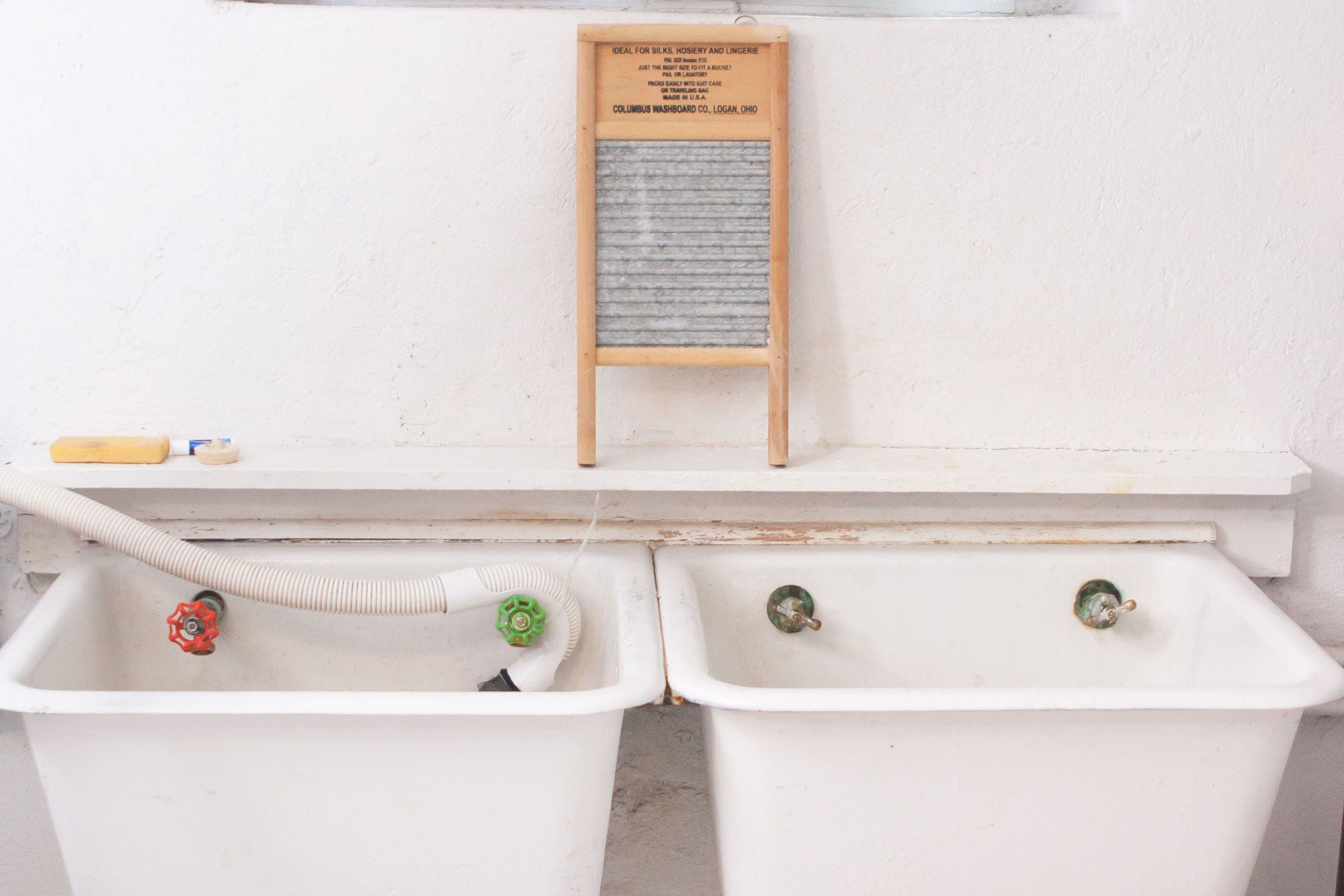 how to install a laundry room sink