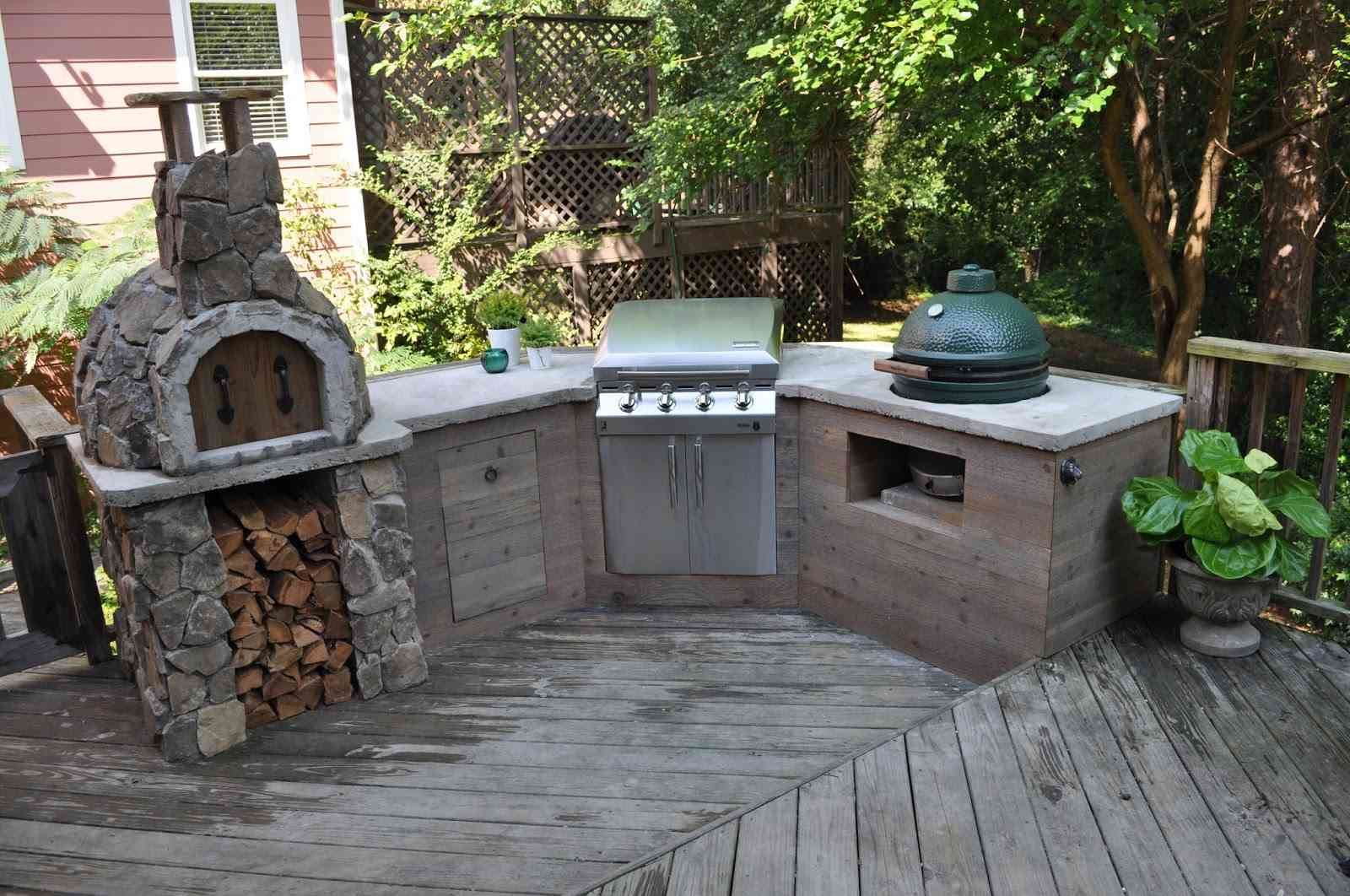 8 Best DIY Outdoor Kitchen Plans on Patio Kitchen Diy  id=39256
