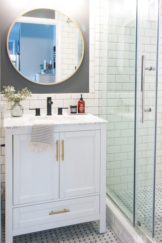 15 Stunning Tile Ideas for Small Bathrooms on Small Space Small Bathroom Tiles Design  id=23546