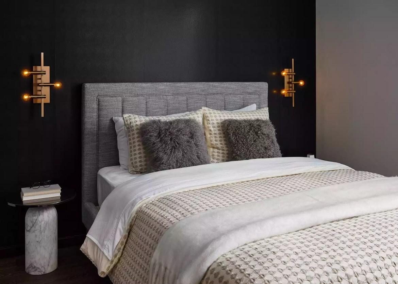Moody bedroom decor