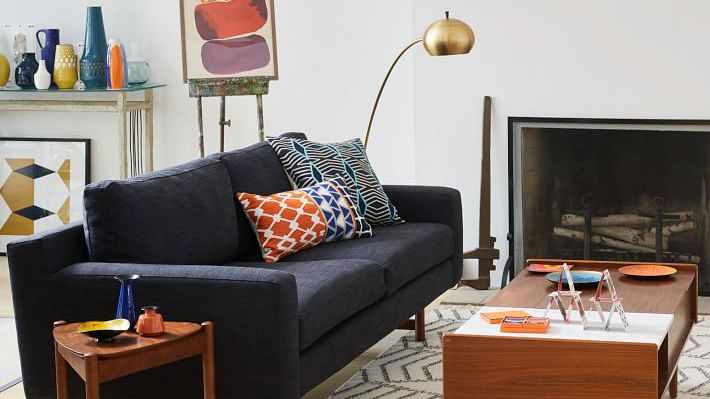 shop for mid century modern sofas