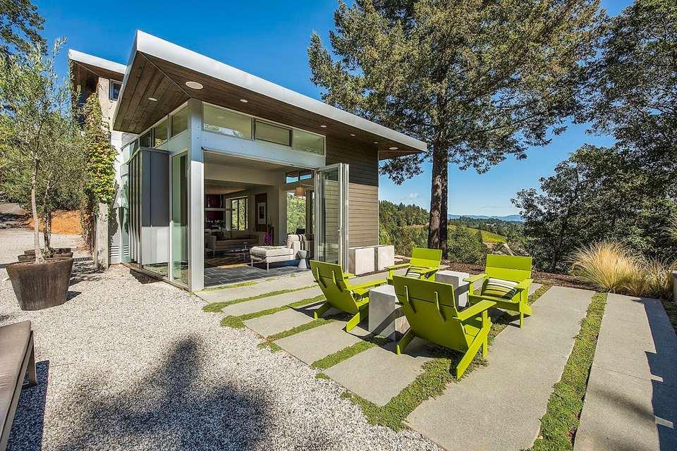 15 Beautiful Concrete Patio Ideas and Designs on Concrete Slab Backyard Ideas id=98645