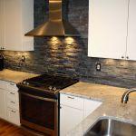 19 Stacked Stone Backsplashes For For Kitchens