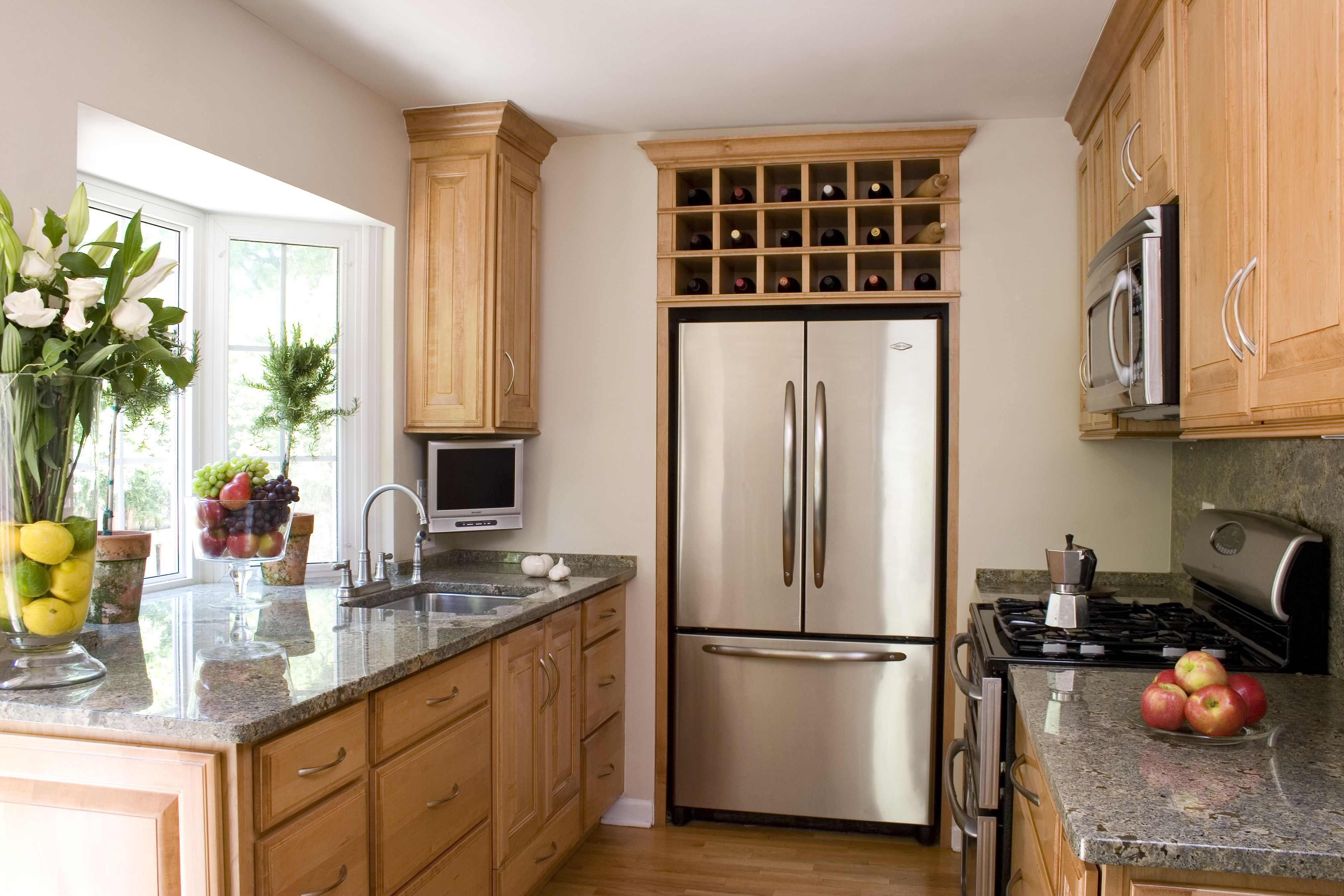 A Small House Tour: Smart Small Kitchen Design Ideas on Tiny Kitchen Remodel Ideas  id=24241