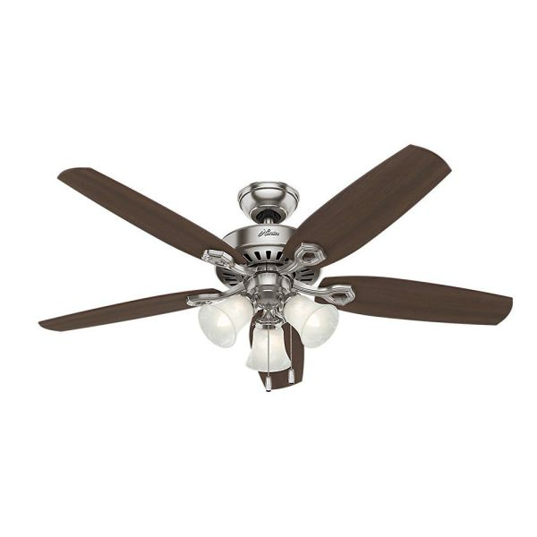 The 7 Best Ceiling Fans to Buy in 2018 Best for Large Spaces  Hunter 53237 Builder Plus Ceiling Fan