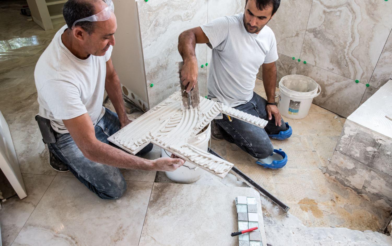 tile backer board for the shower